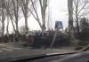ДТП с машиной сопровождения в Бишкеке: джип «зачищал» правительственную трассу