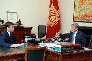 Президент Атамбаев обратил внимание премьер-министра на вопросы ценообразования на уголь