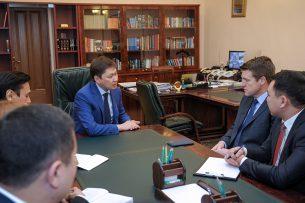 Премьер-министр КР встретился с исполнительным директором компании «Центерра Голд Инк.»