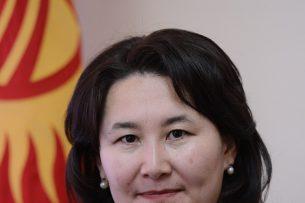 Толгонай Стамалиева возглавила пресс-службу президента Кыргызстана