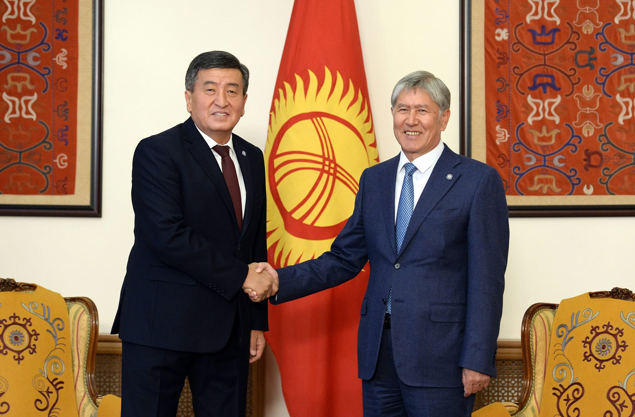 Новый президент Киргизии вступит вдолжность 24ноября