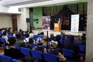 В Бишкеке прошел творческий вечер, посвященный дружбе Кыргызстана и Казахстана