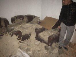 По факту падения бетонной плиты на жилой дом возбудили уголовное дело по двум статьям