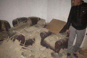 В Новопавловке на жилой дом упала бетонная плита, погибла женщина