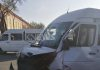 ДТП в Бишкеке: Маршрутка выехала на встречную, есть пострадавшие (фото)