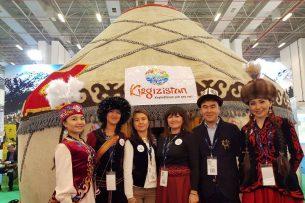 Кыргызстан принял участие в туристической выставке в Турции