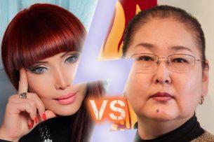 Виртуальный баттл: Теледива и вице-мэр спорят о миллионных расходах на оформление Бишкека к Новому году