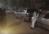 В Бишкеке автомобиль, которым управляла пьяная девушка, протаранил несколько машин (видео)