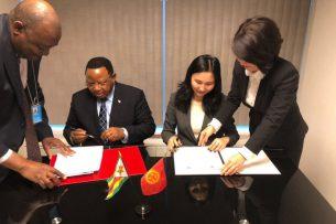 Кыргызстан и Зимбабве установили дипломатические отношения