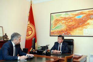 Жээнбеков и Абдылдаев обсудили предстоящую поездку президента в Узбекистан