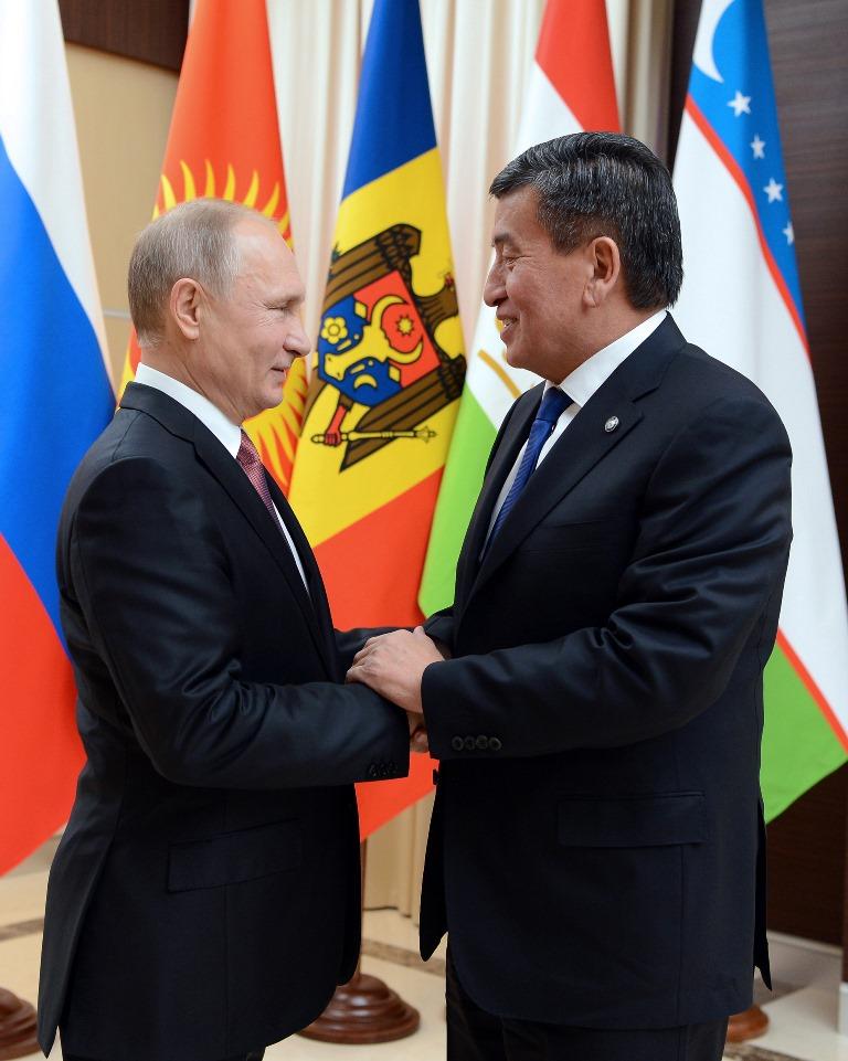 Президент Киргизии проинформировал обусилении пропагандыИГ вЦентральной Азии
