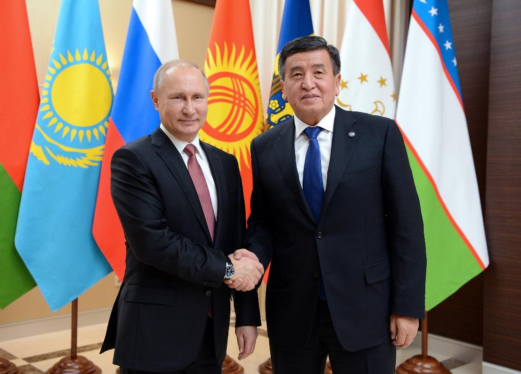 Президент Киргизии сказал обусилении пропагандыИГ вЦентральной Азии