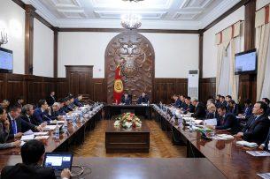 Премьер-министр Сапар Исаков дал ряд поручений по развитию Ошской области