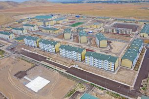 Казахстан построил военный городок на границе с Кыргызстаном
