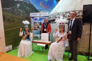 Стенд Кыргызстана на туристической выставке в Турции признали самым аутентичным