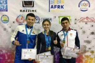 Кыргызстанские легкоатлеты завоевали четыре медали на чемпионате в Казахстане