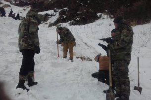 В Джети-Огузе найдено тело оставшегося под снежной лавиной мужчины