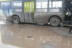 Общественный транспорт Бишкека в ужасном состоянии – очевидец (фотофакт)