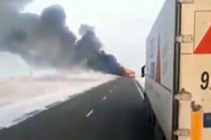 Трагедия в Казахстане: в Сети появилось видео с места гибели 52 человек, сгоревших в автобусе