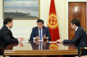 Президент и торага ЖК обсудили первоочередные задачи в рамках Года развития регионов