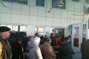 На кыргызско-казахской границе столпотворение – очевидец