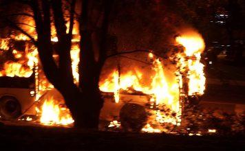 Жуткое ДТП: в Казахстане 52 человека заживо сгорели в автобусе