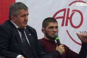 Хабиб Нурмагомедов готов тренироваться на Иссык-Куле (видео)