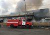 Пожар на Ошском рынке: что происходит в данный момент (фото, видео)