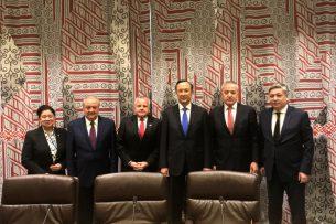 Кыргызстан принял участие в работе площадки «С5+1» в Нью-Йорке