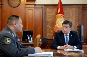 Жээнбеков потребовал очистить МВД от «оборотней в погонах»