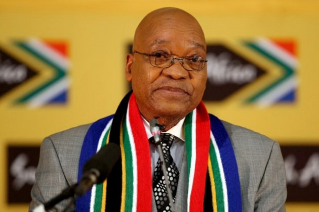Президент ЮАР объявил оботставке