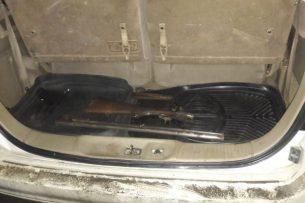 В Бишкеке задержан гражданин России, перевозивший в авто оружие