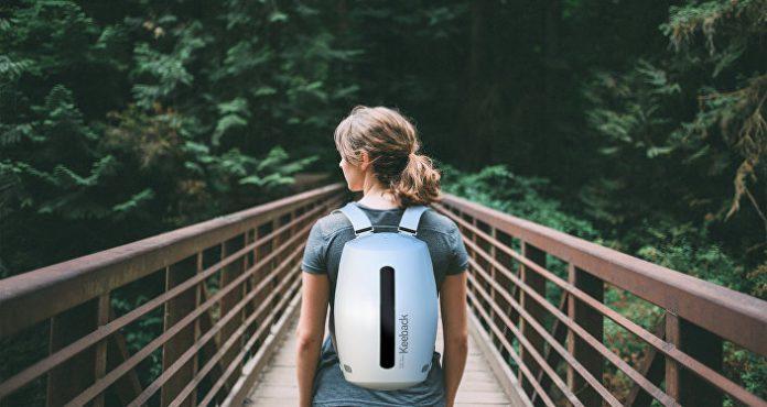 умный рюкзак keedback
