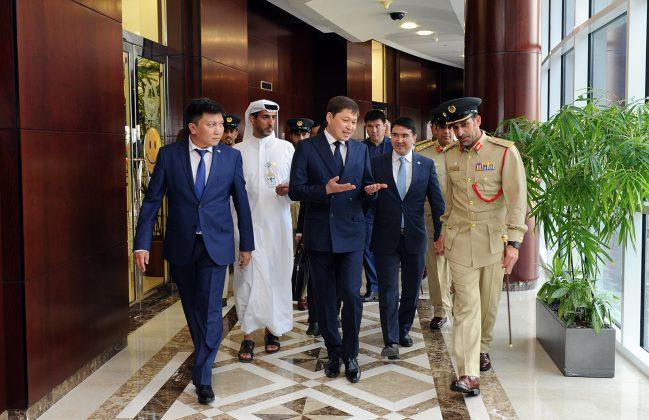 Сапар Исаков полиция Дубая