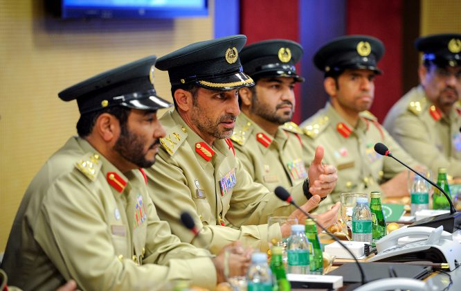 полиция Дубая