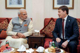 Премьер-министры Кыргызстана и Индии обсудили вопросы двустороннего сотрудничества