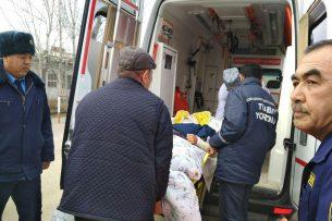 Узбекистанцы, пострадавшие от взрыва в кафе в Кыргызстане, доставлены на родину (фото)