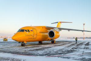 самолет Ан-148 Саратовские авиалинии