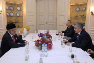 Главы МИД Кыргызстана и Омана обсудили вопросы сотрудничества