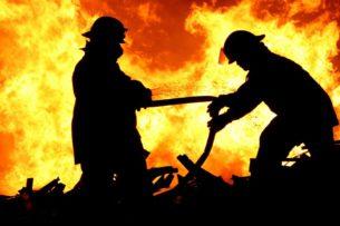 В городе Кант в пожаре погиб 45-летний мужчина