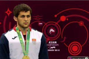 Муслим Евлоев стал чемпионом Азии по борьбе (видео)