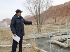 Очистные сооружения Нарынской области находятся в опасном состоянии