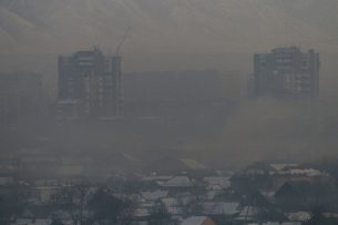 В Бишкеке установят датчики для контроля качества воздуха