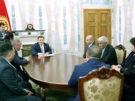 Меценаты Кыргызстана получили Почетные грамоты Жогорку Кенеша