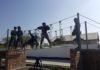 Сотрудники МЧС по Баткенской области показали навыки спасения людей (фото, видео)