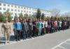 Ряды Сухопутных войск Кыргызстана пополнились молодыми призывниками