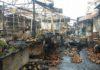 Топ-5 пожаров на крупных рынках Кыргызстана