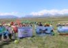 В городе Токтогул прошел «Марш парков»
