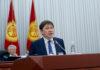 Сапар Исаков: Я не коррупционер