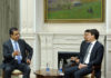 Сапар Исаков обсудил с директором Air Arabia сотрудничество в сфере авиации и туризма